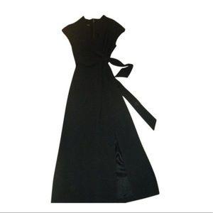 JONES NEW YORK Wrap Top Sleeveless Maxi Dress